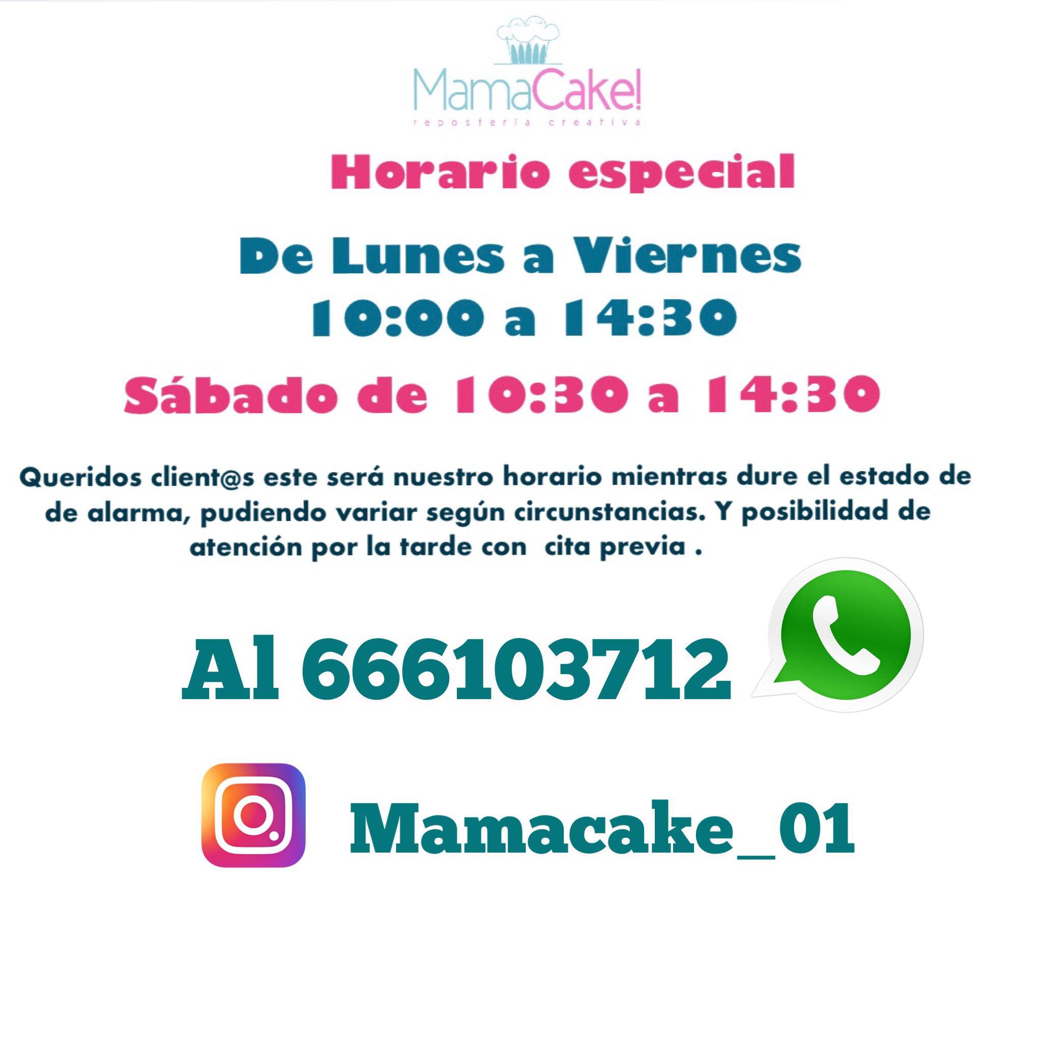 mamacake_reposteria_creativa_sevilla_Horario_junio_2020